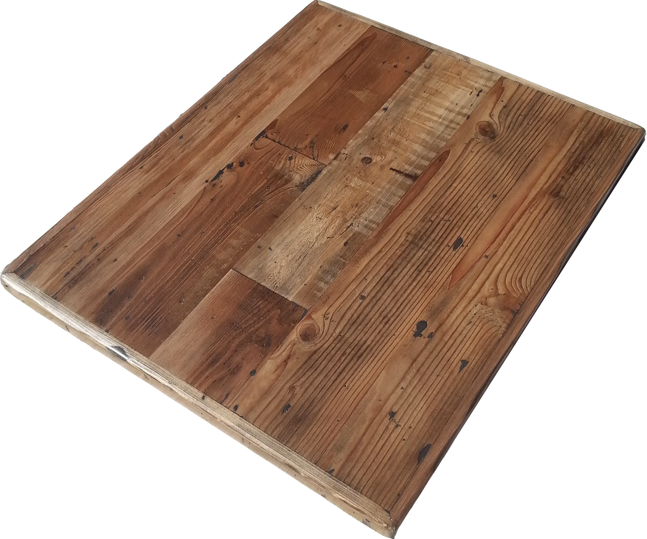Reclaimed Wood Table Tops | Restaurant & Cafe Supplies