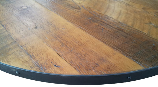 Reclaimed Doug Fir Round Wood Table Top