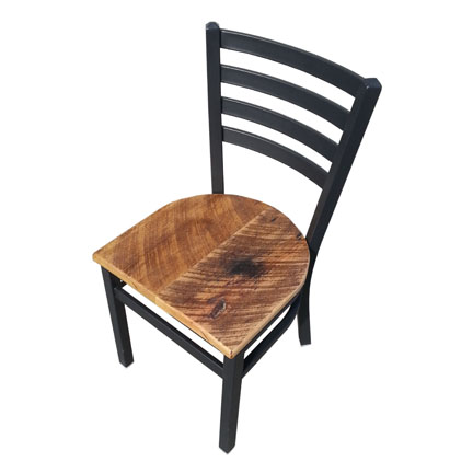 Black Ladderback Chair