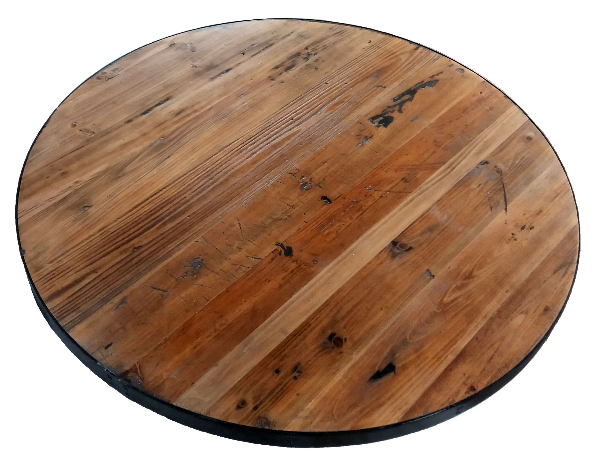 Reclaimed Round Wood Table Tops Restaurant Amp Cafe
