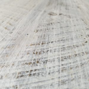 Reclaimed Wood Table White Wash Detail