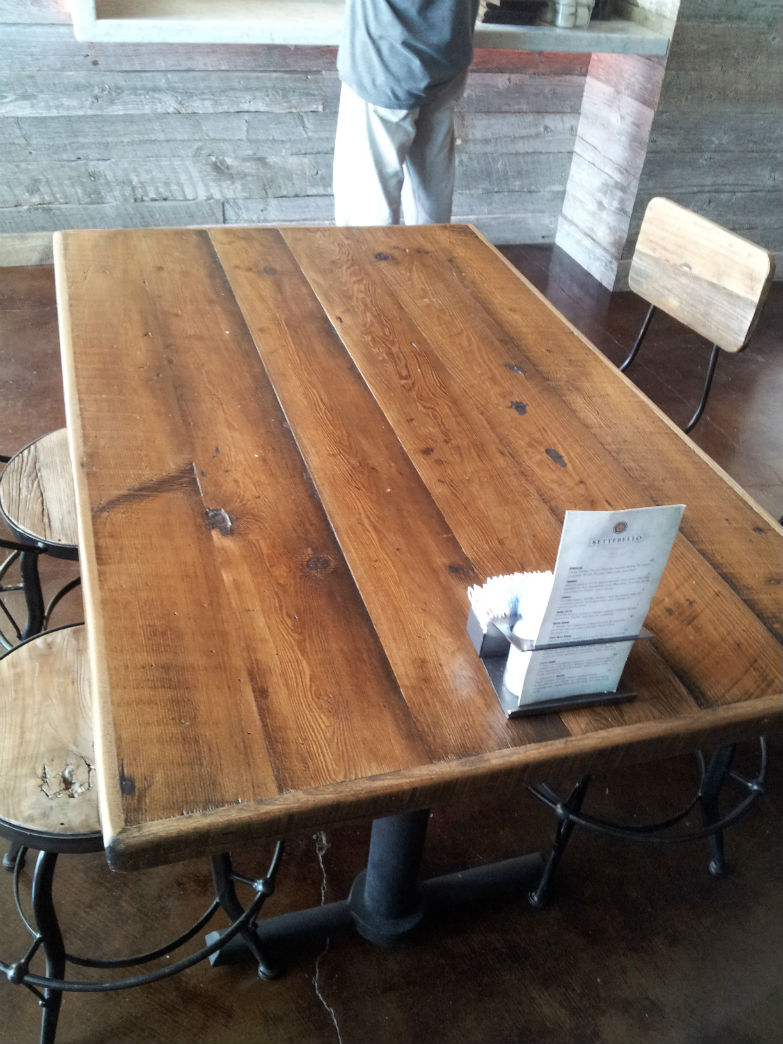 Amazing Reclaimed Wood Table Top Straight Plank Download Free Architecture Designs Scobabritishbridgeorg