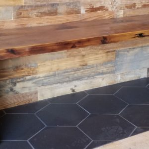 Solid Reclaimed Wood Benches