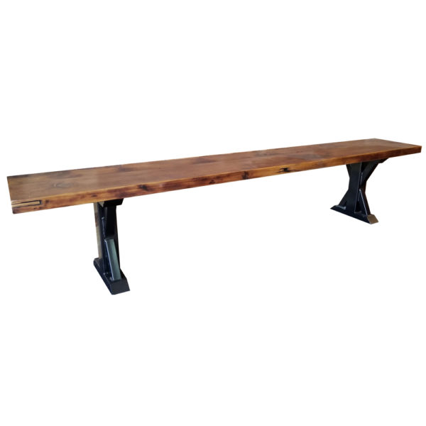 Reclaimed-Wood Bench