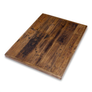 Straight Plank Reclaimed Wood Tabletop