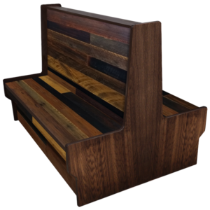 Reclaimed Wood Booth